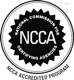 NCCA Accredited Logo