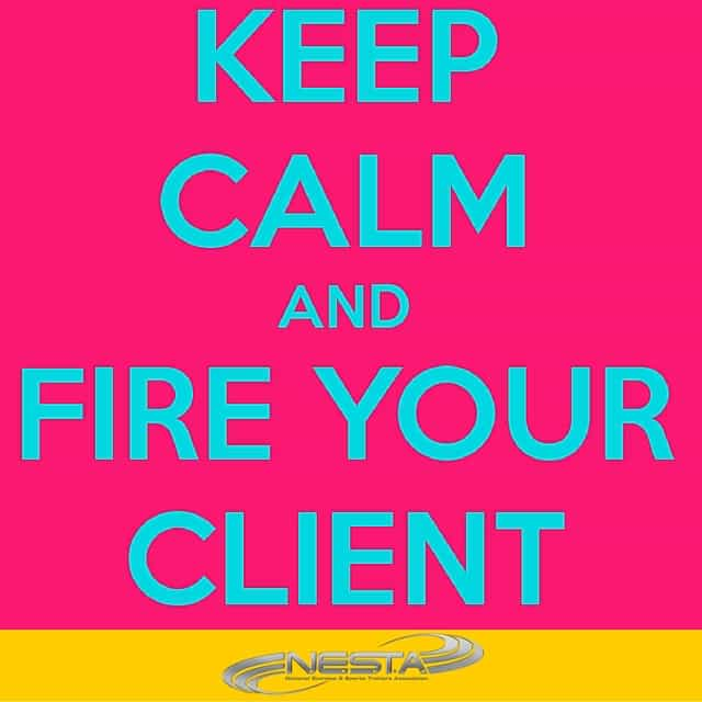 How to Fire a Fitness Client in 6 Easy Steps