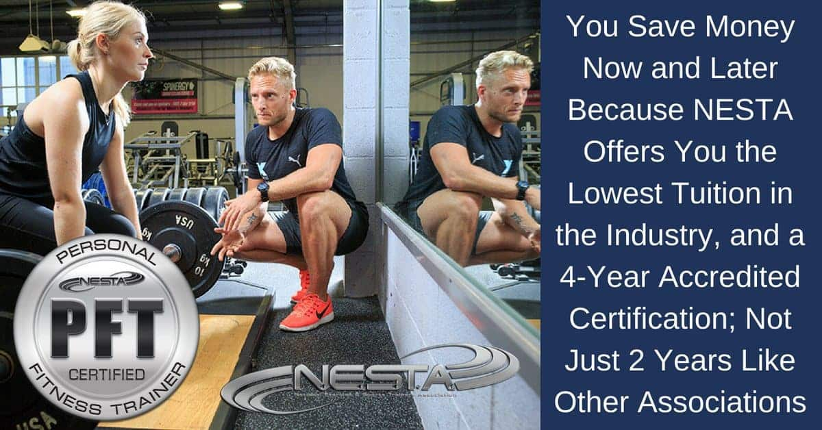 cost of personal training certification