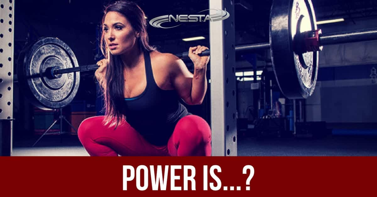 Power Is...? How to Explain Force and Energy as a Fitness Trainer
