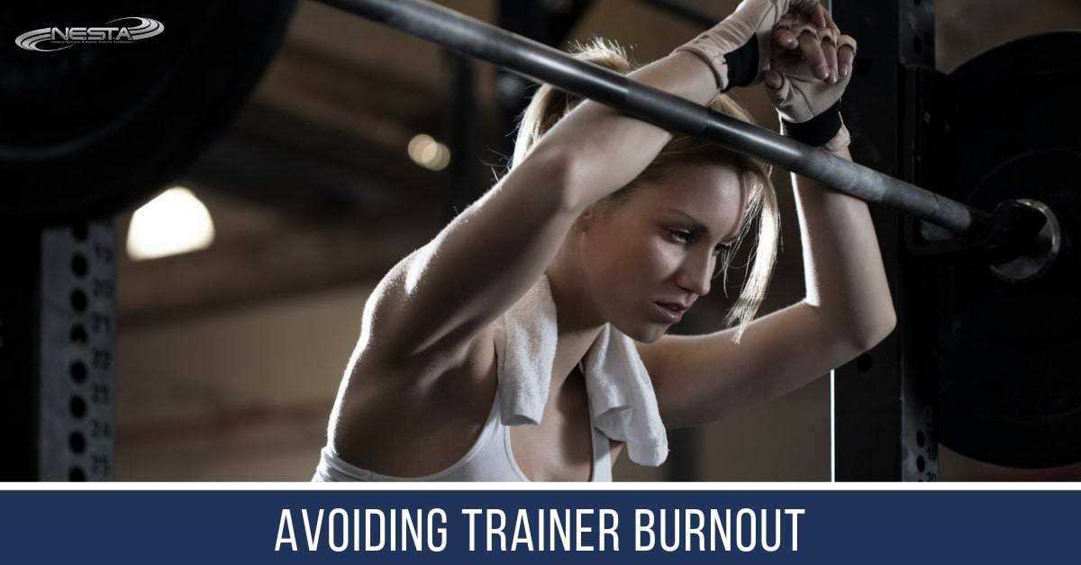 Being a Personal Trainer is very demanding on your mind, body, and soul.Here are 5 strategies for avoiding trainer burnout.