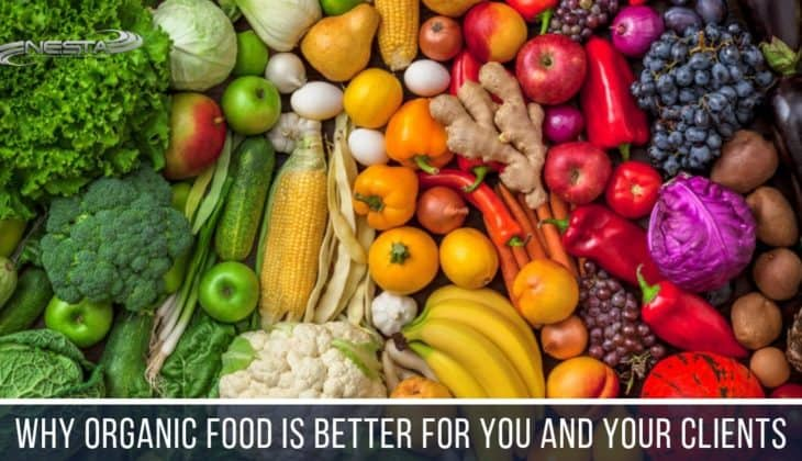 Organic food is grown, prepared and processed without chemical fertilizers, pesticides, or preservative and thought to have higher nutritional values.