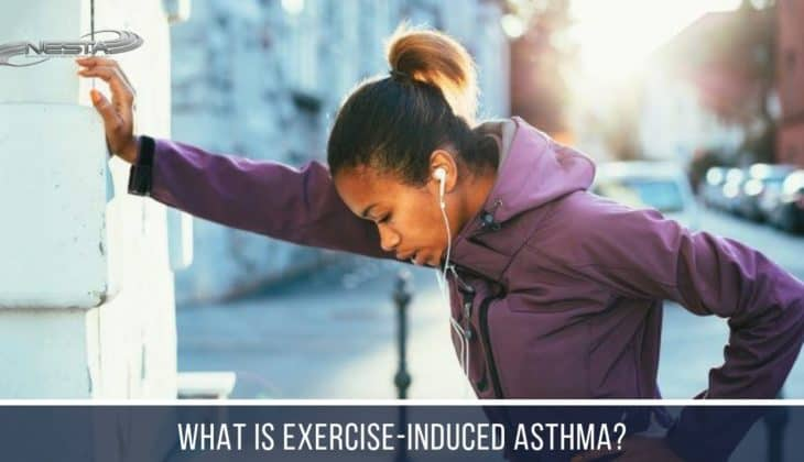 You may be able to 'run through' your exercise-induced asthma by warming up with short bursts of exercise or with continuous exercise.