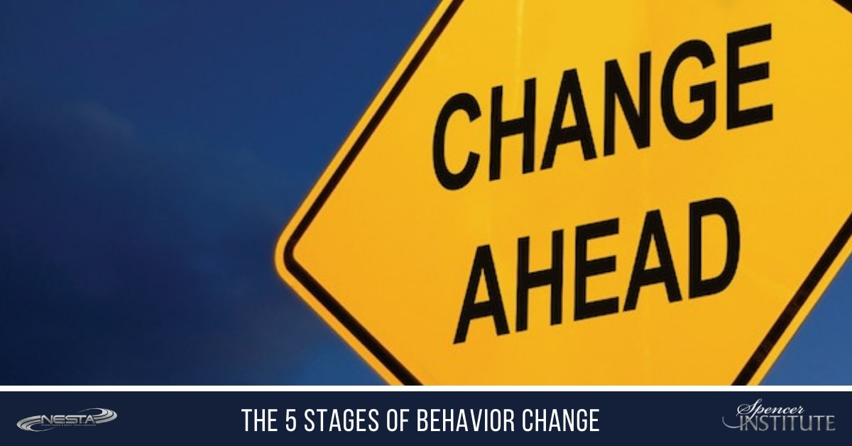 what are the fivestages of change