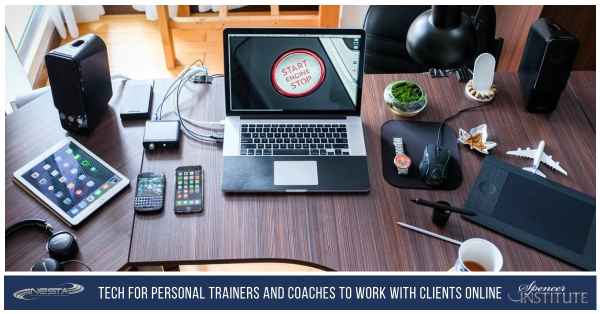 Technologies for Personal and Trainers and Coaches to work with Clients Online